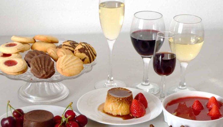 ¿Qué vinos servir con dulces y postres? Maridajes de vinos con dulces y postres