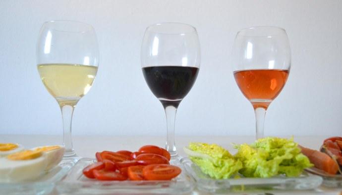 ¿Qué vinos servir con ensaladas? Maridaje de vinos y ensaladas - maridajes de vinos y comida