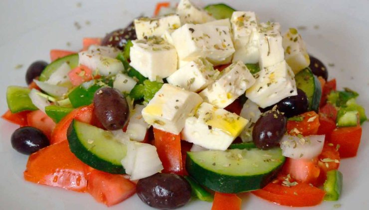 Platos típico de la gastronomía tradicional griega