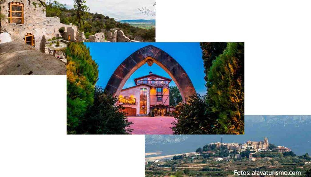 Ruta del vino Arabako Txakolina - Txacoli de Álava - enoturismo en Euskadi - vinos de España