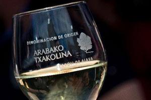 Denominacion de origen txakoli de Álava - vinos de España - vinos de Euskadi o País vasco