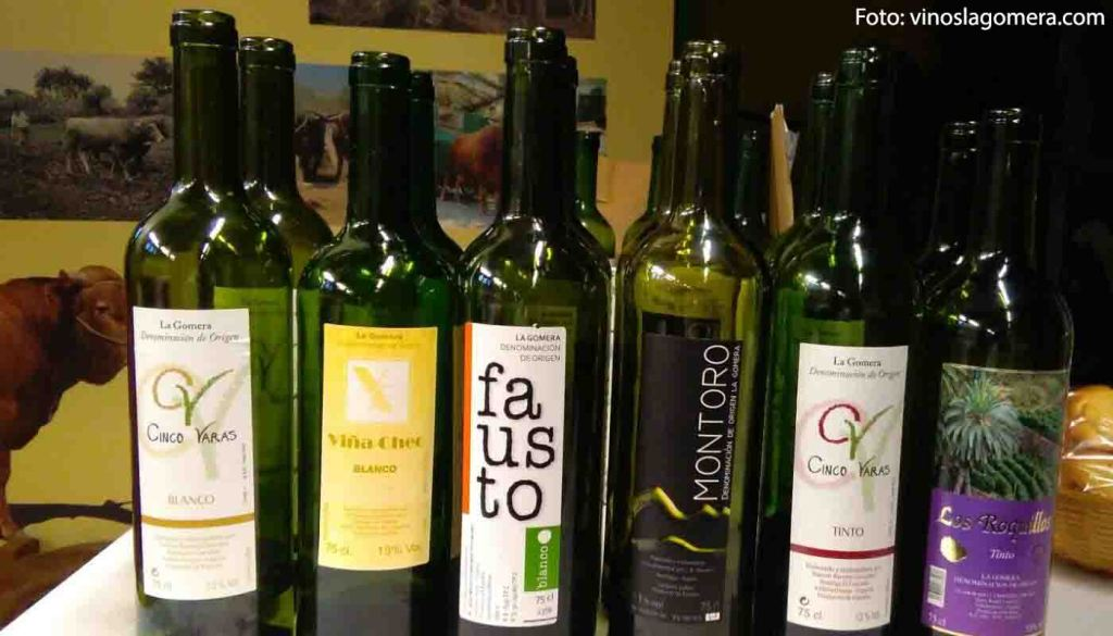 Denominacion de origen La Gomera - vinos de España - vinos de las Islas Canarias