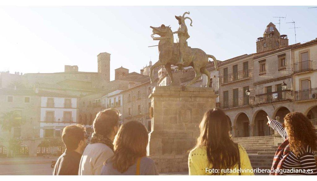 Ruta del vino Ribera del Guadiana -  enoturismo en Extremadura