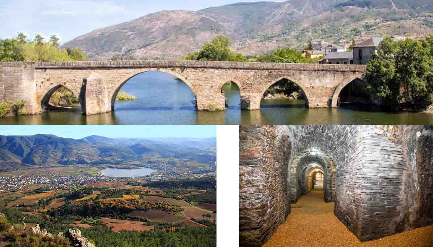 Ruta del vino de Valdeorras, a través del valle moldeado por el Sil