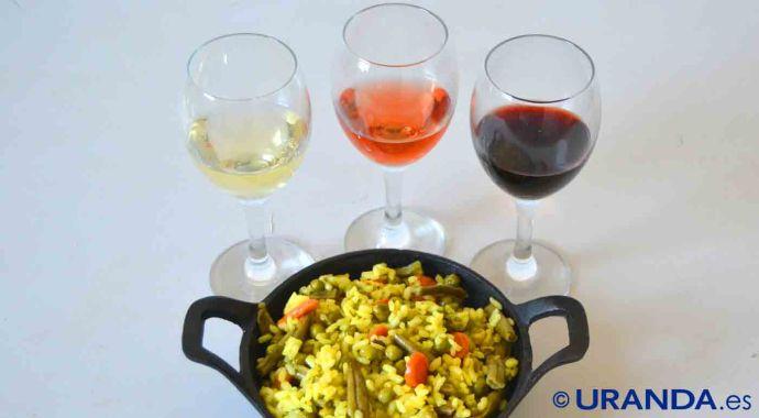 ¿Qué vinos servir con arroces? Maridaje de vinos y platos de arroz - maridajes de vinos y comida
