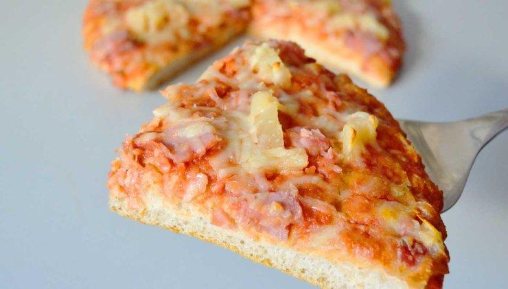 Receta de pizza americana (masa gruesa) - recetas de pizzas caseras