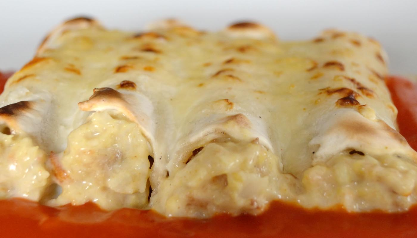 Recta de canelones de pescado y marisco - recetas de pasta - recetas de canelones caseros - recetas realfooding o real food